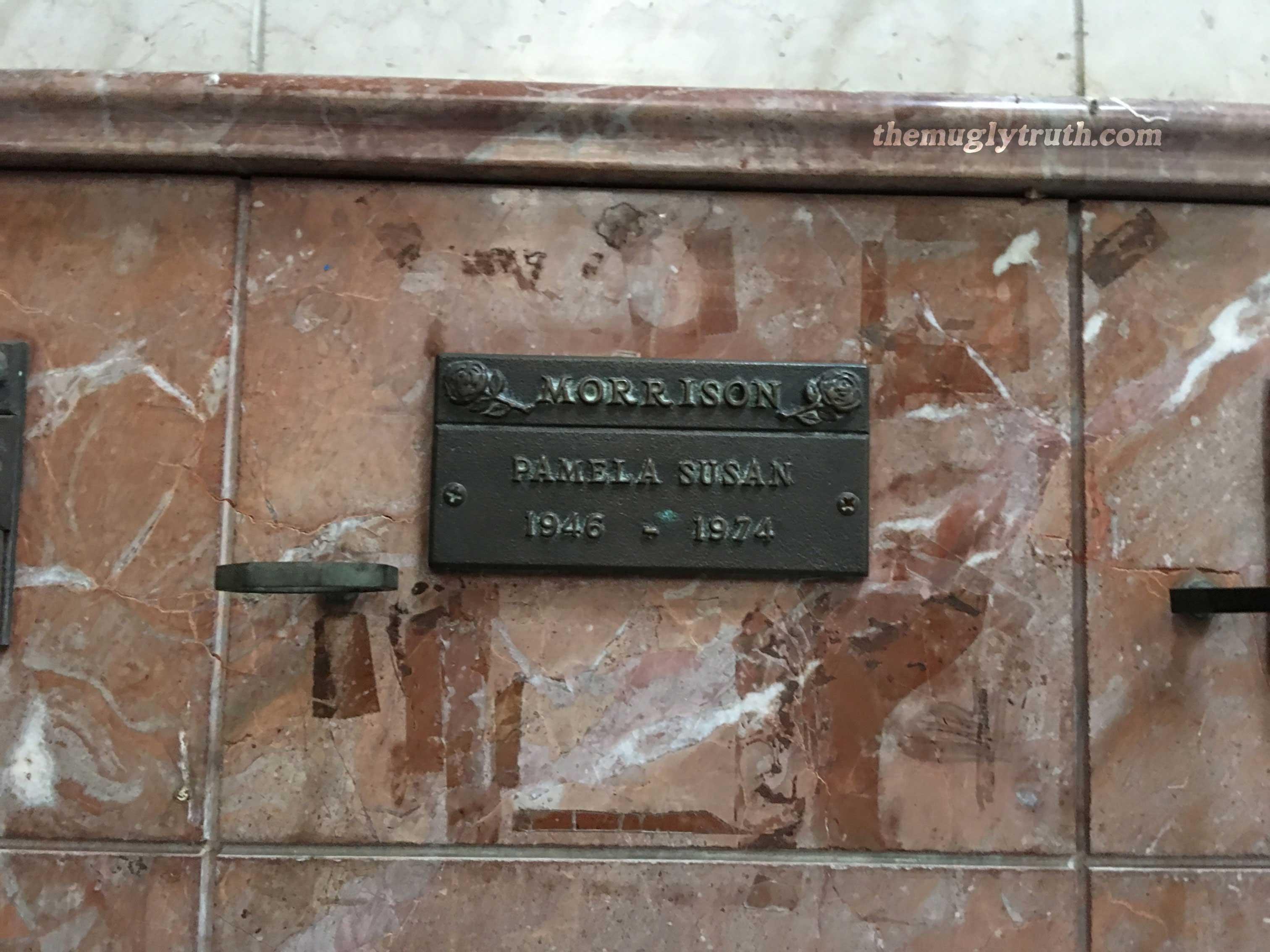 Pamela Morrison resting place