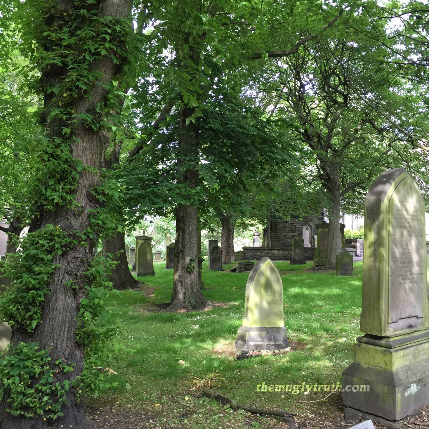 Peaceful Saint Cuthbert Graveyard