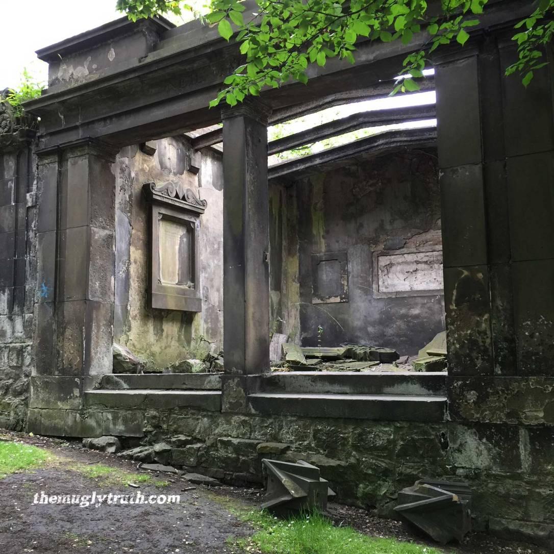 Gothic dilapidation Saint Cuthberts