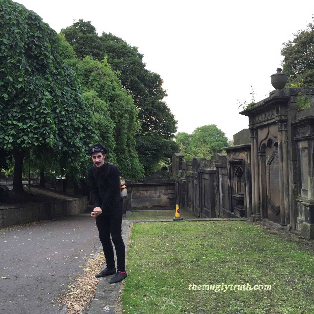 Ghost Bus Tour Guide at Saint Cuthbert Graveyard