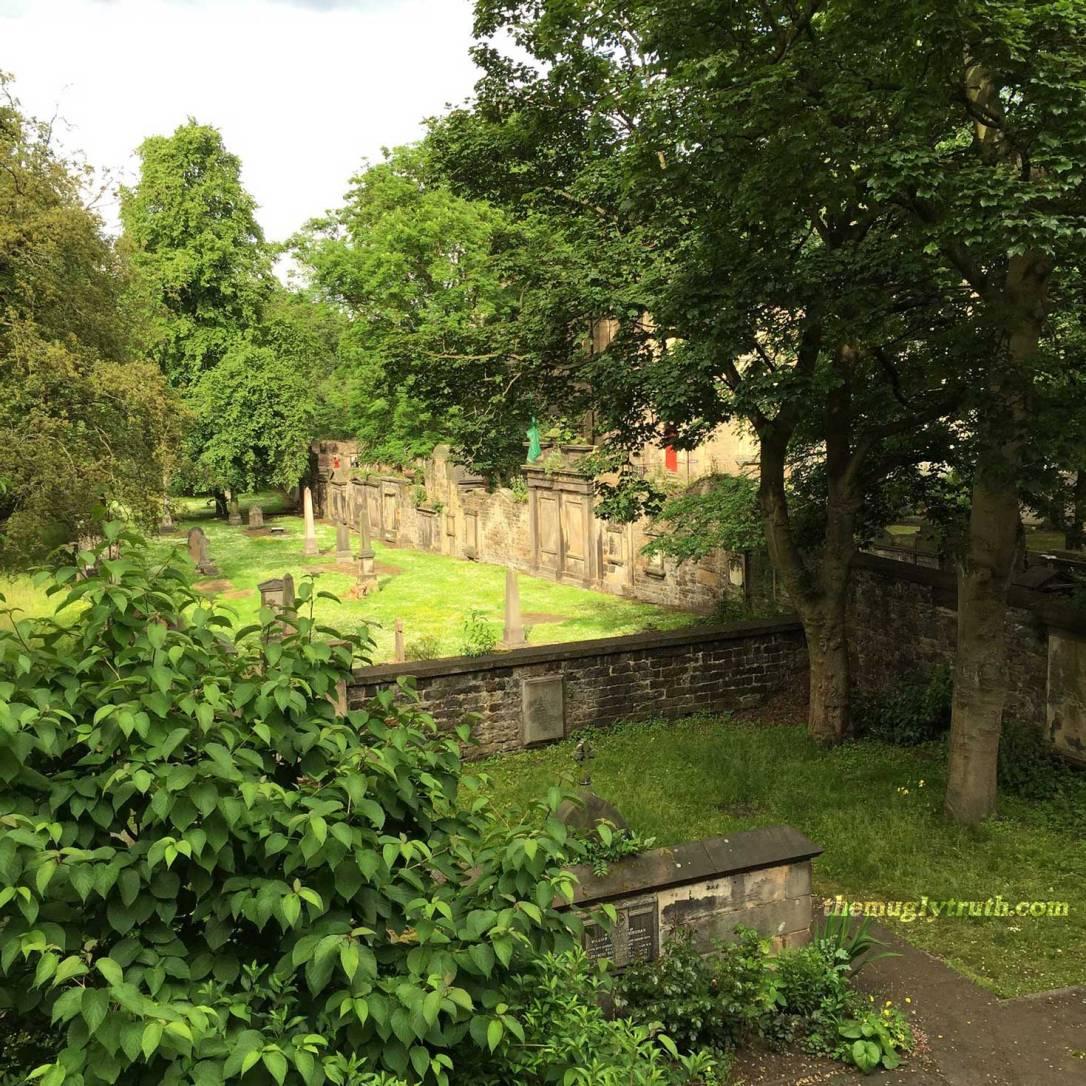 Saint Cuthbert graveyard