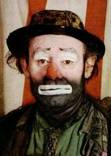 Emmett Kelly as Weary Willie