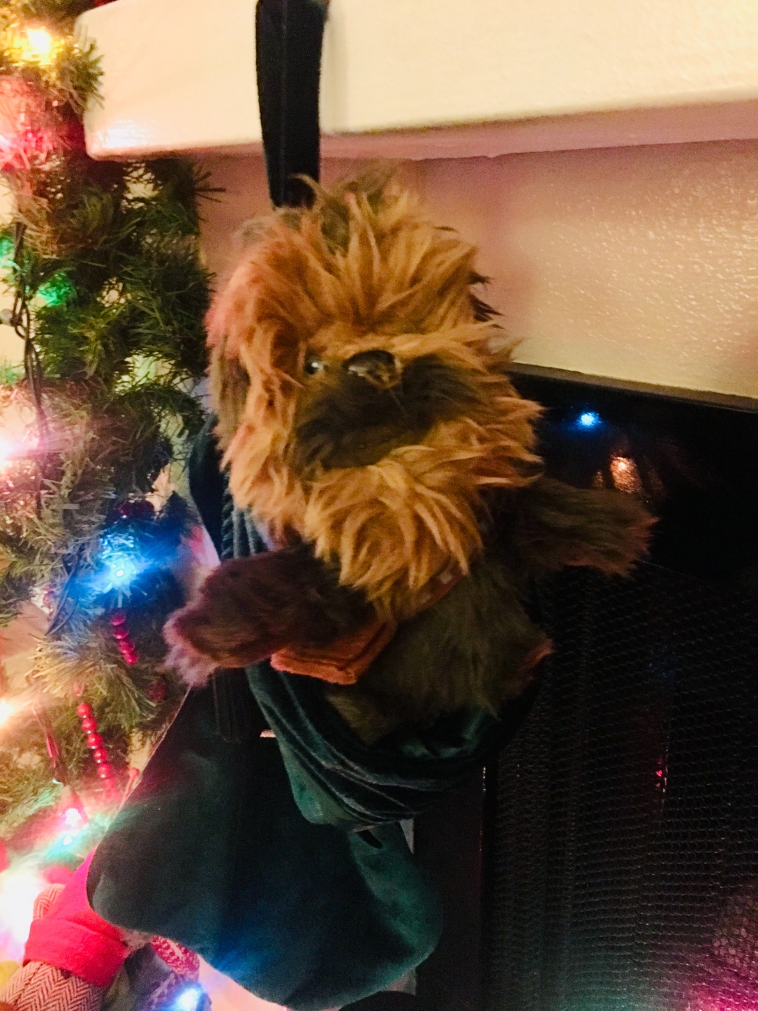 Chewbacca Plush Toy