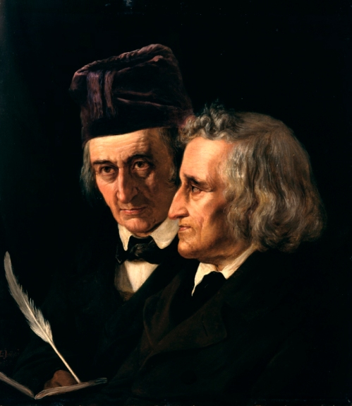 Wilhelm_Grimm _and_Jacob_Grimm_1855_painting_by_Elisabeth_Jerichau-Baumann